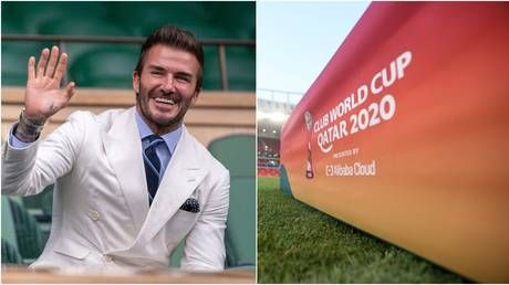 Becklash: Football megastar Beckham risks 'gay icon' status, human rights ire after '$200 MILLION DEAL to promote Qatar World Cup'