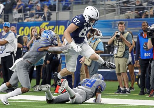Penn State watching Pat Freiermuth develop as leader, dominant tight end
