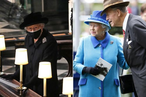 Queen lost a close friend on same day as her husband Philip's funeral