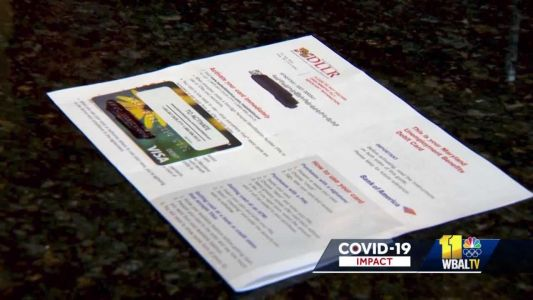 Westminster man receives unemployment benefits he did not apply for