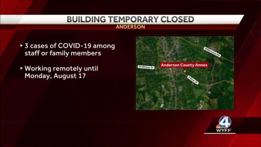 Coronavirus cases at Upstate county public building force closure, officials says