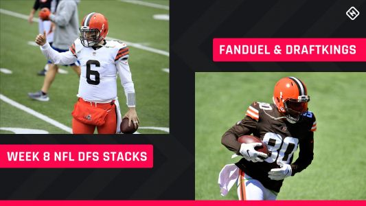 Week 8 NFL DFS Stacks: Best lineup picks for DraftKings, FanDuel tournaments, cash games