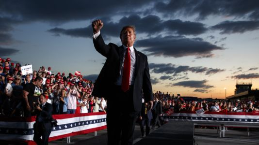 Trump Threatens To Deport 'Millions,' As He Kicks Off Campaign For Reelection