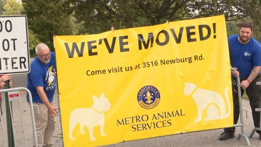 Metro Animal Services moves to new state-of-the-art building