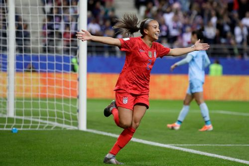 USWNT's most goals in a World Cup game makes men's stat look really bad