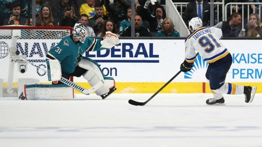 NHL playoffs 2019: Vladimir Tarasenko scores Blues first-ever postseason penalty shot