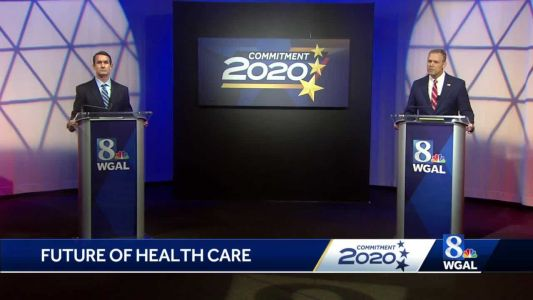 Perry, DePasquale clash over health care