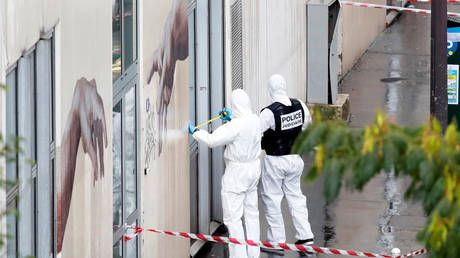 Attack outside former Charlie Hebdo office in Paris 'clearly act of Islamist terrorism' - French interior minister