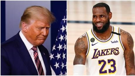 'You're fired': Gleeful LeBron James among those to gloat as Biden declares victory over Trump