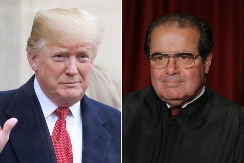 Trump cracks joke about Antonin Scalia's sex life