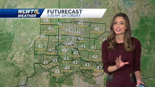 Fall weather lasts through the weekend
