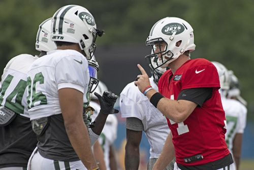 Sam Darnold's reps are telling what Todd Bowles isn't set to say