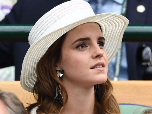 Emma Watson stole the show at Wimbledon in a 3-piece suit - and you probably totally missed it