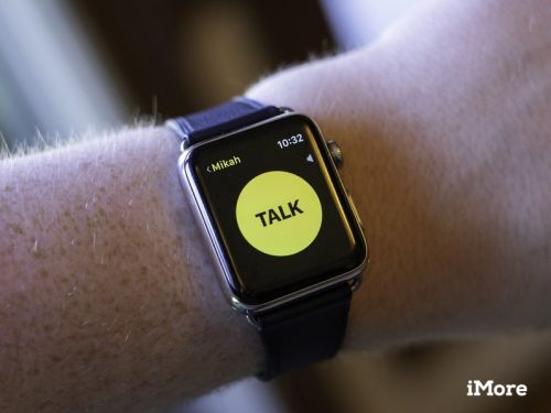 How to use the Walkie-Talkie app for Apple Watch in watchOS 5