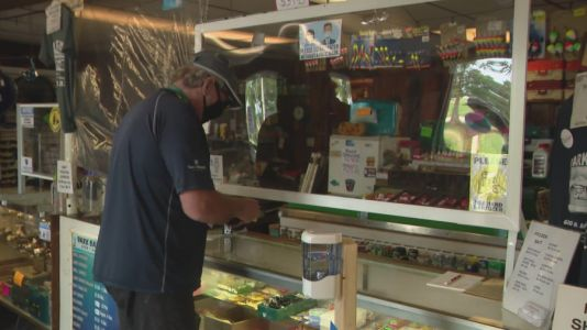 Park Bait Shop reopens to customers