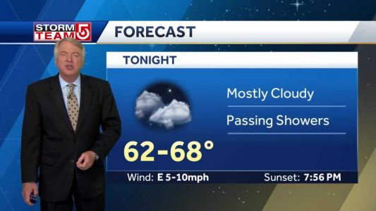 Video: More clouds Saturday; Sunshine returns Sunday
