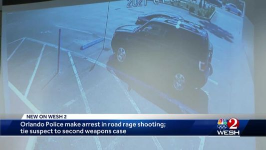 Orlando police make arrest in road rage shooting; suspect connected to second weapons case, officials say