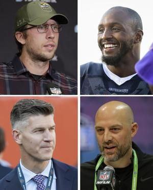 Bears declare open competition between Trubisky, Foles