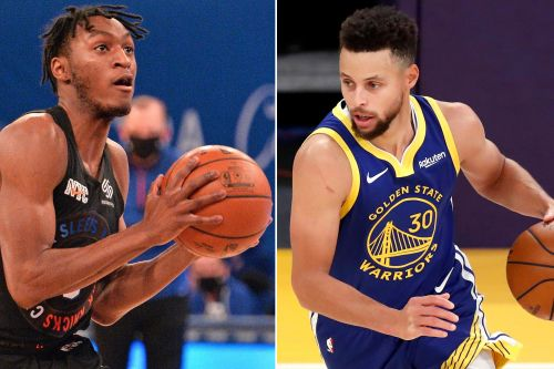Knicks' Immanuel Quickley relishing Stephen Curry challenge