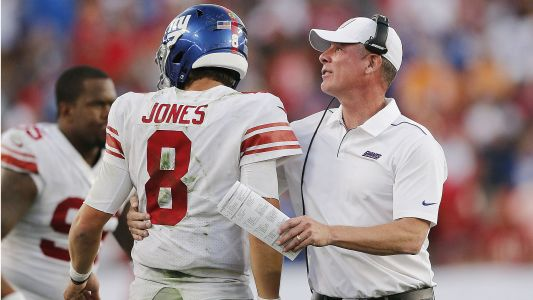 Giants' Pat Shurmur on Daniel Jones: 'We believed in him from the day we drafted him'