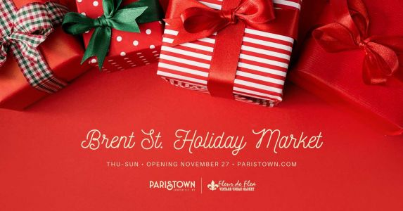 New for the holidays: Outdoor market in Paristown opening through Christmas Eve