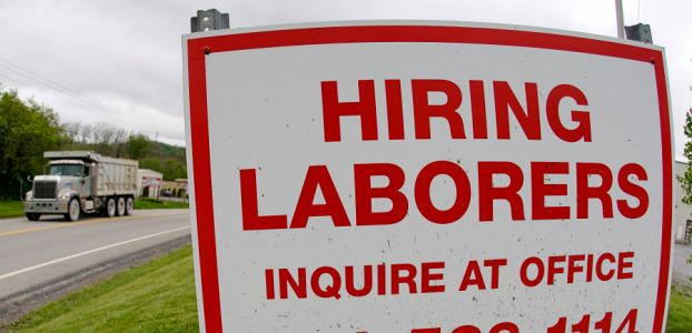 US jobless claims fall to 406,000, a new pandemic low