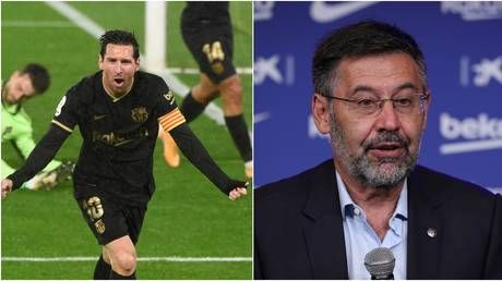 Bye, bye Bartomeu: Now that the Barca boss has gone and Lionel Messi's got what he wanted, the pressure will be on him to deliver