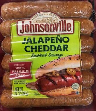 Company recalls sausage products that may contain plastic pieces