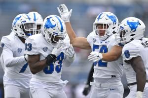 STAT WATCH: Buffalo's 11 sacks are most in FBS since 2019