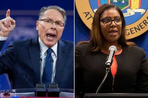 NRA files countersuit against New York AG Letitia James