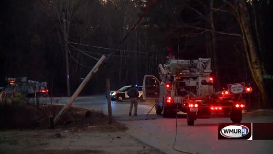 Police: RV hits utility pole, knocks out power near Epping-Fremont town line