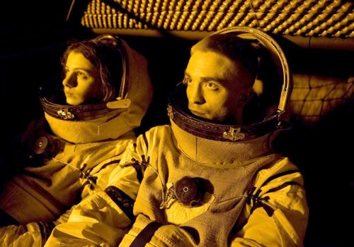 Low lights on the 'High Life' spaceship, but Pattinson's good