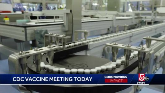 CDC meeting to discuss COVID-19 vaccine