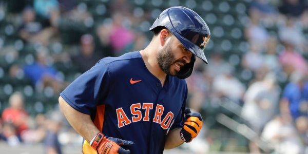 Astros players are already getting hit by pitches repeatedly in spring training