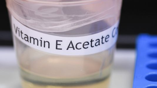 Vitamin E acetate, in combination with THC, may be responsible for outbreak of vaping deaths