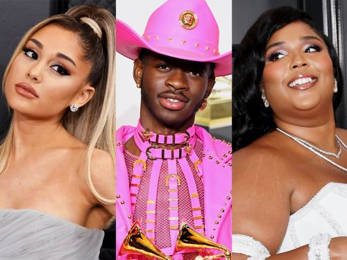 The only picture you need to see from the Grammys is Ariana Grande, Lizzo, and Lil Nas X cuddling for a photo