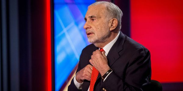 Billionaire investor Carl Icahn dumped all of his Hertz shares at an almost $2 billion loss after the car-rental giant's bankruptcy