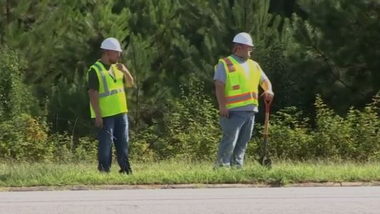 Cops pose as construction workers to nab drivers who won't stop texting
