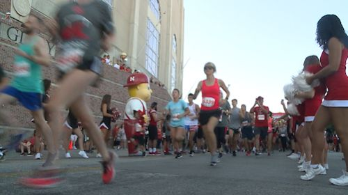 Nebraska Football Road Race raises funds for pediatric brain cancer research