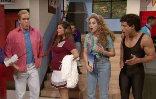 Students 'Saved by the Bell' again in Peacock's sitcom revival
