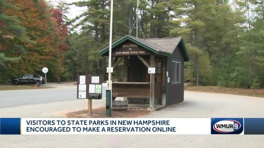 Visitors to state parks in New Hampshire encouraged to make reservations online