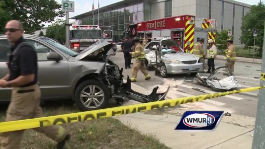 Manchester man facing assault, other charges after serious downtown crash