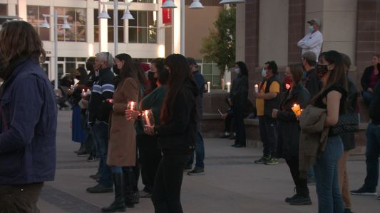 Hundreds gather to honor life and legacy of Halyna Hutchins