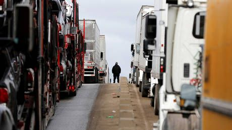 Texas police looking for more than 100 illegal immigrants who fled smuggling truck amid winter freeze