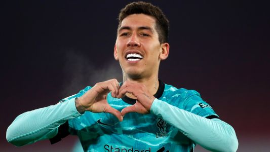 Firmino back in training with Liverpool after knee injury absence