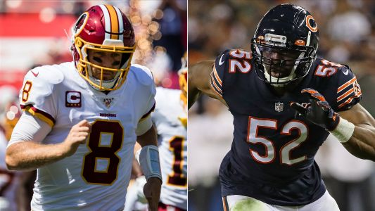 'Monday Night Football' odds: Free NFL pick & parlay for Bears vs. Redskins