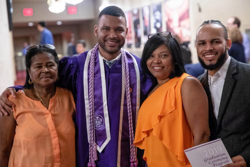 Man graduates from NYU school where he worked as janitor