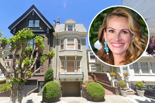 Julia Roberts buys $8.3M century-old San Francisco victorian
