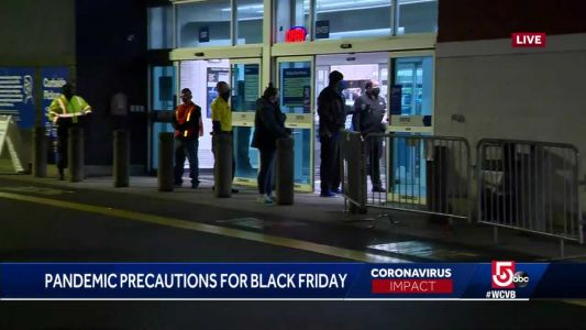 Black Friday shoppers hunt out deals amid coronavirus pandemic