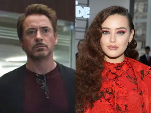 Robert Downey Jr. shared a video from the 'Endgame' set, and it gives a first look of '13 Reasons Why' star Katherine Langford